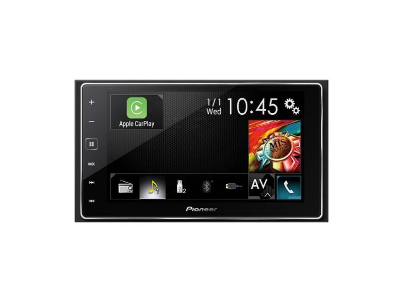 Автомагнитола Pioneer SPH-DA120 MP3 без CD-привода FM RDS 2DIN 4x50Вт черный