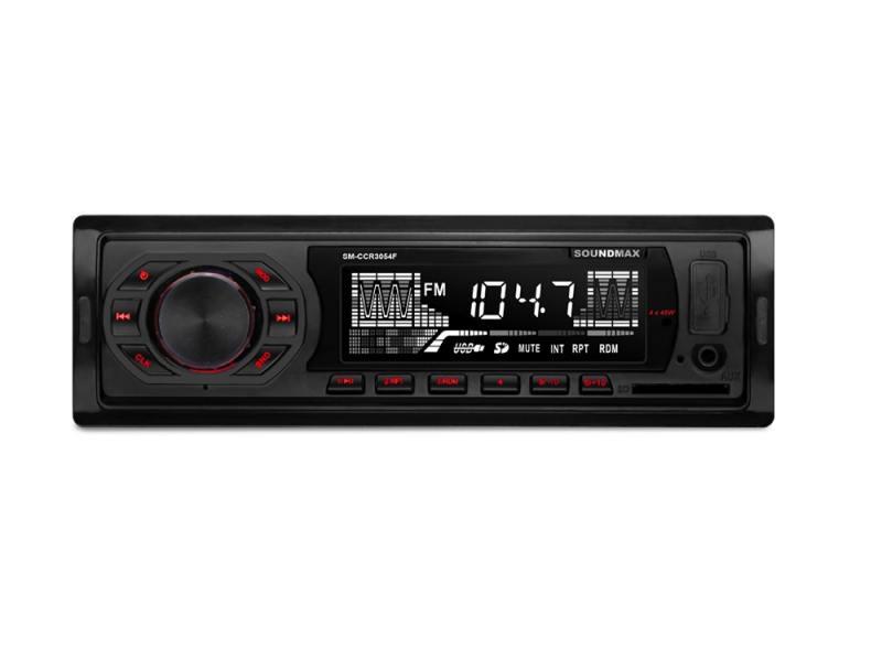 Автомагнитола Soundmax SM-CCR3054F USB MP3 FM SD 1DIN 4x45Вт черный
