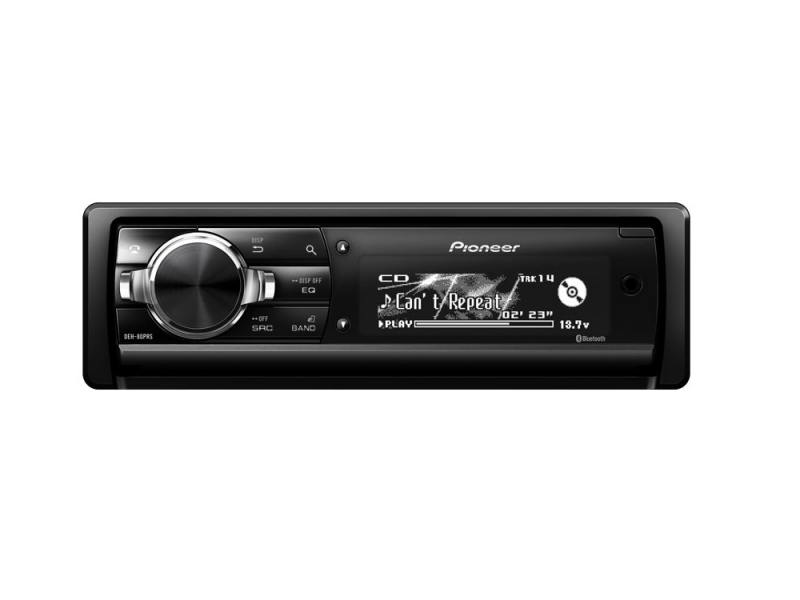 Автомагнитола Pioneer DEH-80PRS USB MP3 CD FM RDS SD MMC SDHC 1DIN 4x50Вт черный автомагнитола cd pioneer deh x8700bt 1din
