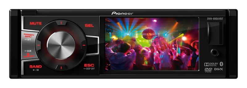 Автомагнитола Pioneer DVH-880AVBT 3.5 320х240 USB MP3 CD DVD FM 1DIN 4x50Вт черный автомагнитола k01 k02 k07 k17 k27 k05 k06 cd dvd