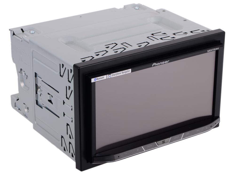 Автомагнитола Pioneer AVH-X8800BT 7 800х480 USB MP3 CD DVD FM RDS 2DIN 4x50Вт черный автомагнитола kenwood ddx9716btsr 7 800х480 usb mp3 cd dvd fm rds 2din 4x50вт черный