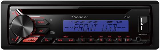 Автомагнитола Pioneer DEH-1900UBB USB MP3 CD FM RDS 1DIN 4x50Вт черный автомагнитола kenwood kdc 151ry usb mp3 cd fm 1din 4х50вт черный