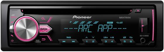 Автомагнитола Pioneer DEH-X2900UI USB MP3 CD FM RDS 1DIN 4x50Вт черный автомагнитола cd pioneer deh x8700bt 1din