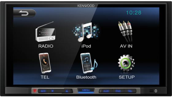 Автомагнитола Kenwood DMX100 6.75 800х480 USB MP3 FM 2DIN 4x50Вт черный touch screen for ab 2711p b7c1d6 2711p b7c10d6 2711p b7c1d2 2711p b7c10d2 panelview plus ce