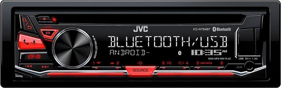Автомагнитола JVC KD-R784BT USB MP3 CD FM 1DIN 4x50Вт черный jumpstart the world