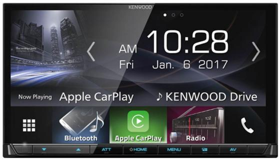 Автомагнитола Kenwood DMX7017BTS 7 USB MP3 FM 2DIN 4x50Вт черный автомагнитола kenwood kdc 210ui usb mp3 cd fm 1din 4х50вт черный