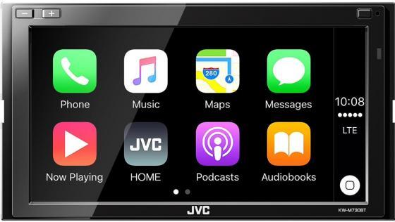 Автомагнитола JVC KW-M730BT 6.8 USB MP3 FM RDS 2DIN 4x50Вт черный автомагнитола jvc kw m730bt kw m730bt