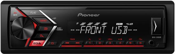 Автомагнитола Pioneer MVH-S100UB USB MP3 FM RDS 1DIN 4x50Вт черный автомагнитола kenwood kmm 103gy usb mp3 fm 1din 4х50вт черный