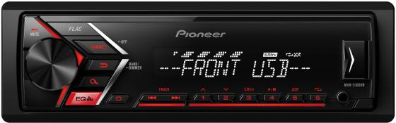 Автомагнитола Pioneer MVH-S100UB USB MP3 FM RDS 1DIN 4x50Вт черный автомагнитола pioneer mvh s100ub