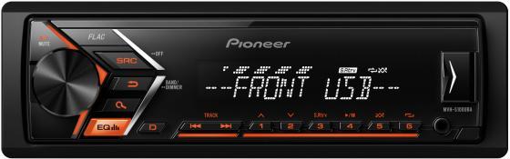 Автомагнитола Pioneer MVH-S100UBA USB MP3 FM RDS 1DIN 4x50Вт черный автомагнитола kenwood kmm 103ay usb mp3 fm 1din 4х50вт черный