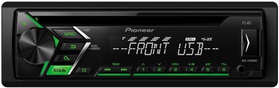 Автомагнитола Pioneer DEH-S100UBG USB MP3 CD FM 1DIN 4x50Вт черный автомагнитола cd pioneer deh s100ub 1din 4x50вт