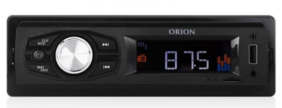 Автомагнитола Orion DHO-1100U USB MP3 FM 1DIN 4x40Вт черный