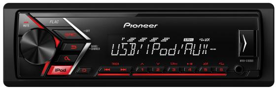 Автомагнитола Pioneer MVH-S100UI USB MP3 FM RDS 1DIN 4x50Вт черный автомагнитола cd pioneer deh x8700bt 1din