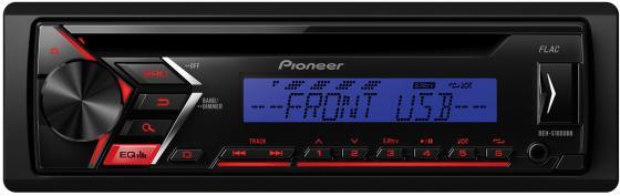 Автомагнитола Pioneer DEH-S100UBB USB MP3 CD FM RDS 1DIN 4x50Вт черный автомагнитола pioneer deh s100ub usb mp3 cd fm 1din 4x50вт черный