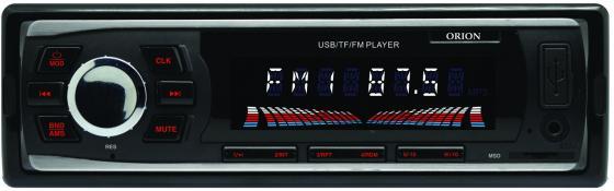 Автомагнитола Orion DHO-1930U USB MP3 FM 1DIN 4x40Вт черный автомагнитола kenwood kmm 103ay usb mp3 fm 1din 4х50вт черный