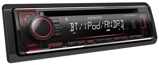 Автомагнитола Kenwood KDC-BT520U USB MP3 CD FM RDS 1DIN 4х50Вт черный автомагнитола kenwood kdc 320ui usb mp3 cd fm rds 1din 4х50вт черный