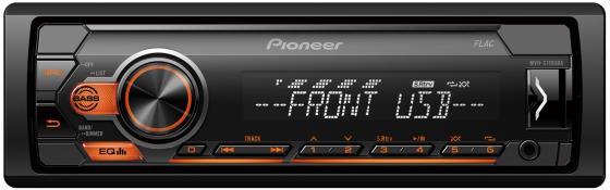 Автомагнитола Pioneer MVH-S110UBA 1DIN 4x50Вт автомагнитола pioneer mvh s100uba 1din 4x50вт