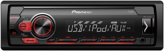 Автомагнитола Pioneer MVH-S110UI 1DIN 4x50Вт автомагнитола pioneer mvh s100uba 1din 4x50вт