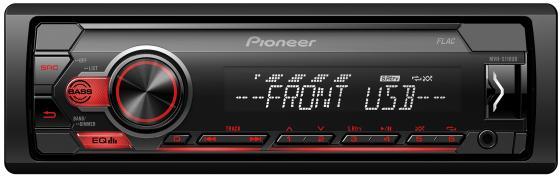Автомагнитола Pioneer MVH-S110UB 1DIN 4x50Вт автомагнитола pioneer mvh s100uba 1din 4x50вт