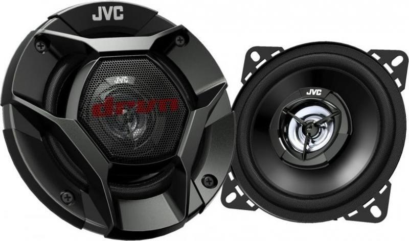 Автоакустика JVC CS-DR420 коаксиальная 2-полосная 10см 35Вт-220Вт автоакустика supra sj 420 коаксиальная 2 полосная 10см 35вт 120вт