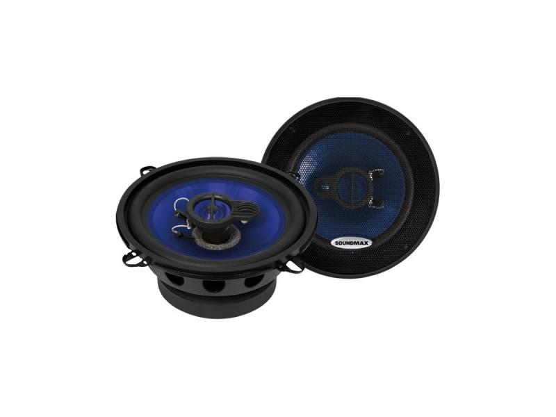 Автоакустика Soundmax SM-CSE503 коаксиальная 3-полосная 13см 60Вт-120Вт автоакустика soundmax sm csd503 коаксиальная 3 полосная 13см 60вт 120вт