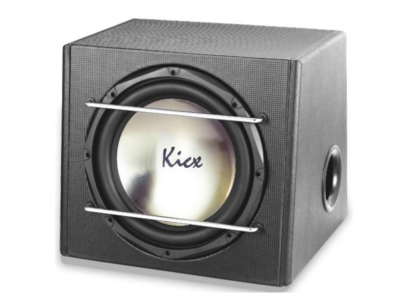 Сабвуфер Kicx ICQ 301BPA динамик 12 30см 300-550Вт 4Ом kicx dtc 36