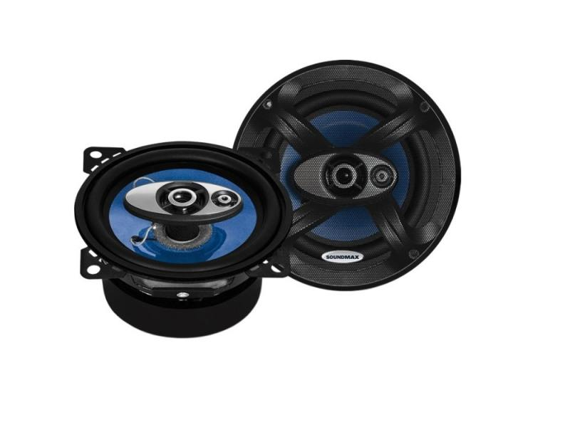 Автоакустика Soundmax SM-CSC403 коаксиальная 3-полосная 10см 50Вт-100Вт