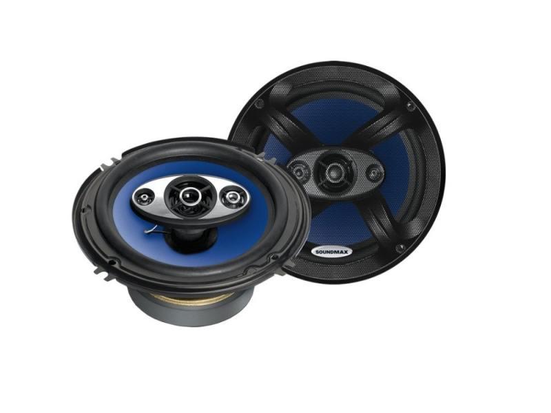 Автоакустика Soundmax SM-CSC604 коаксиальная 4-полосная 16.5см 90Вт-180Вт