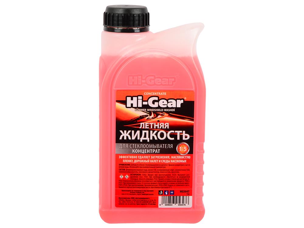 Жидкость для стеклоомывателя Hi Gear HG 5647