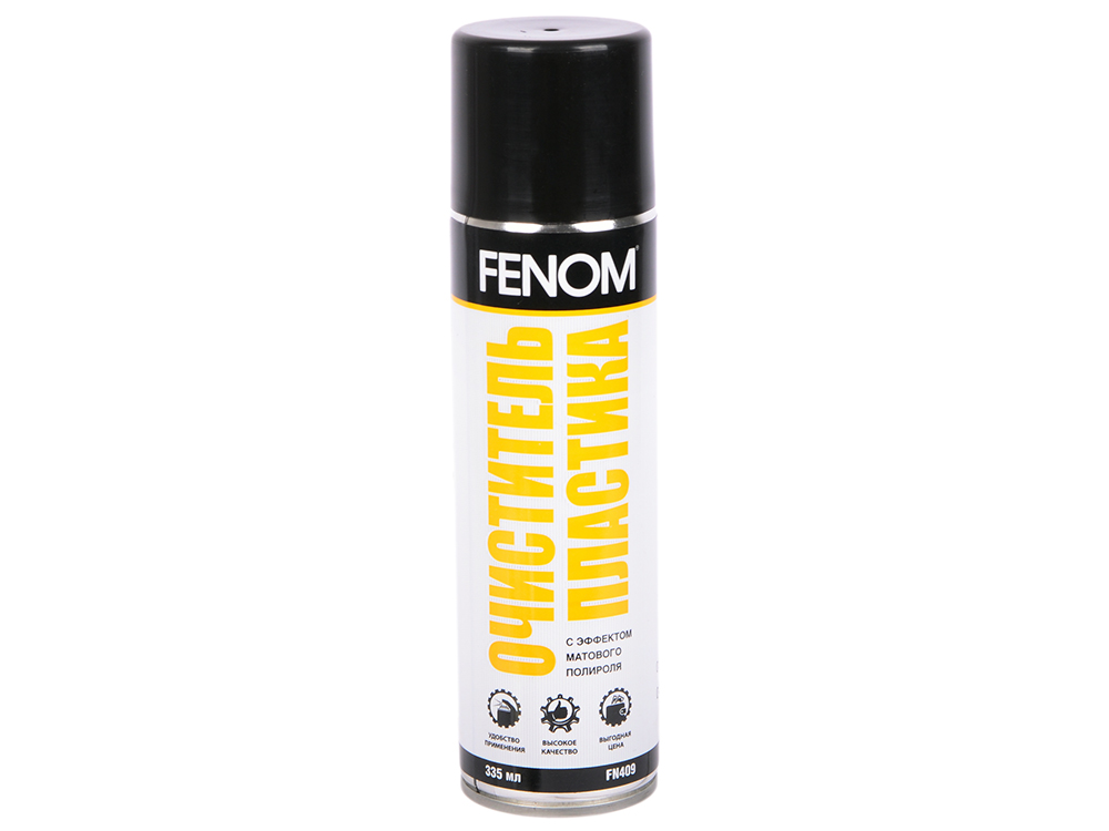 Очиститель пластика Fenom FN 409 полироль панели глянцевый fenom горная свежесть fn 410