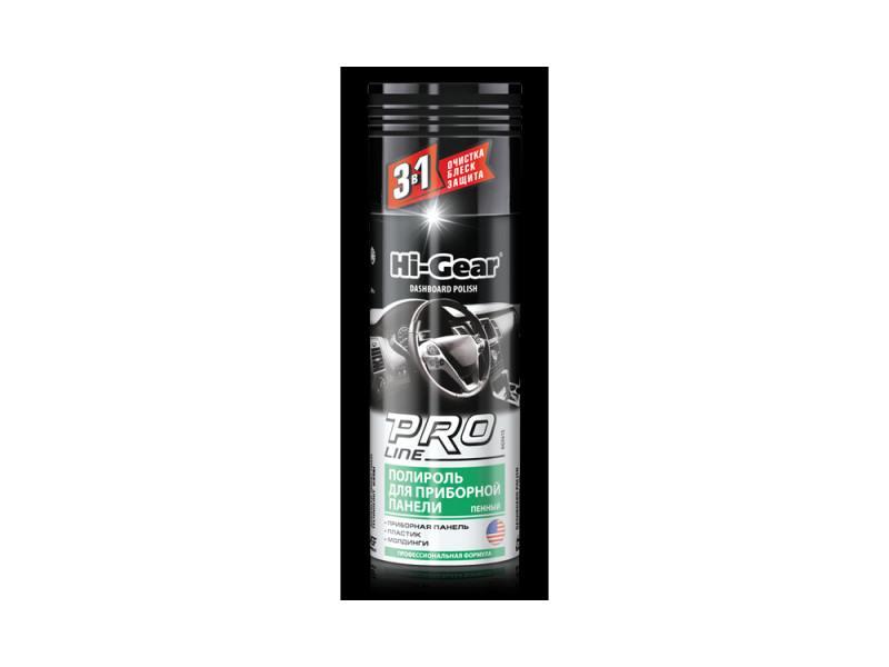 Полироль д/приборной панели PRO Line (пенный) проф.формула Hi Gear HG 5615 полироль для панели hi gear hg 5615 очиститель интерьера hg 5619