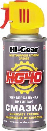 Универсальная литиевая смазка Hi Gear HG 5504 салфетки hi gear hg 5583 освежающие