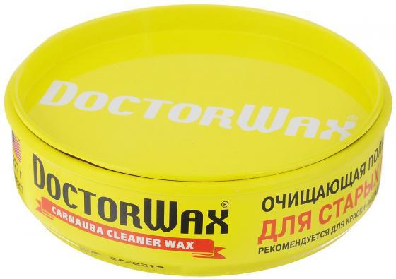 Пастообразная очищающая полироль защита с воском Doctor Wax DW 8207 Карнауба