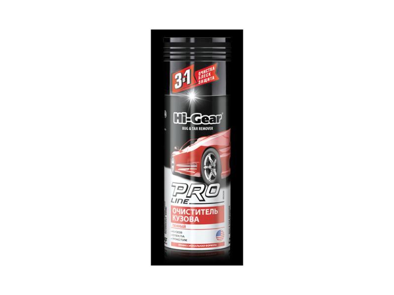 Очиститель PRO Line от комаров кузов/стекло (пенный) Hi Gear HG 5626 салфетки hi gear hg 5585