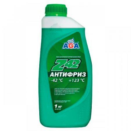Антифриз AGA 048 Z 1л антифриз chery 45