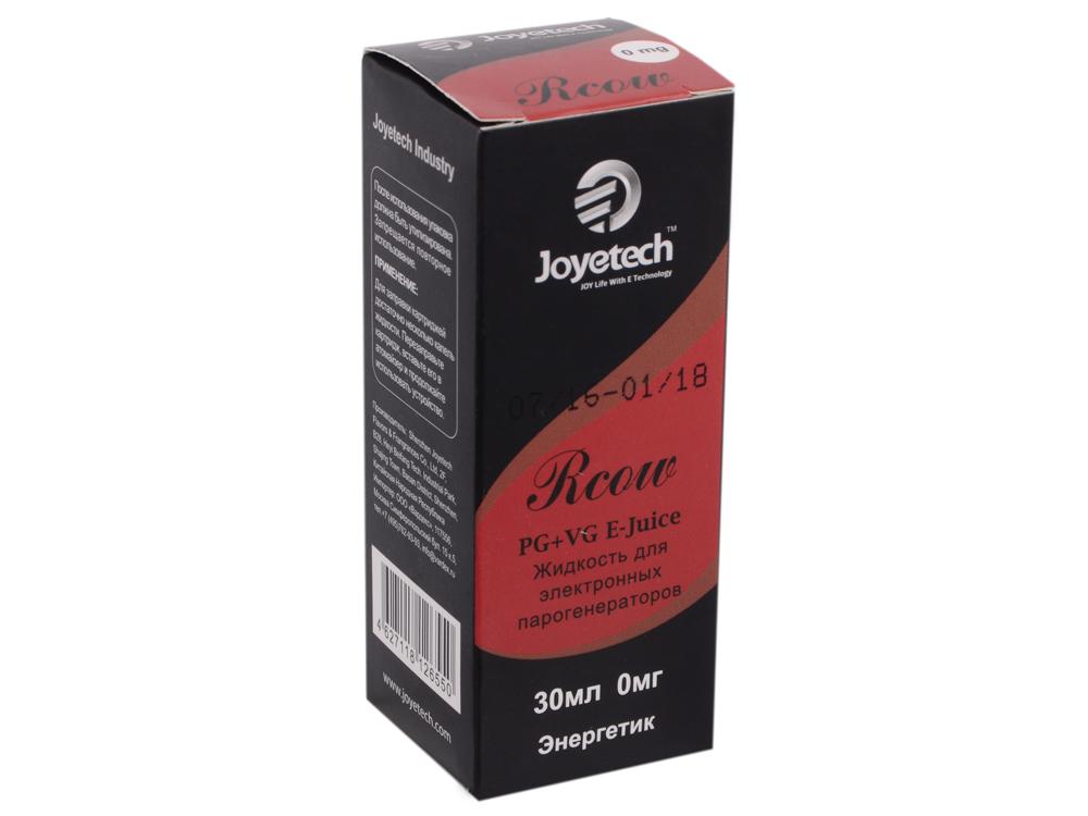 Жидкость для заправки электронных сигарет Joyetech Red Cow (RBull) (0 mg) 30 мл