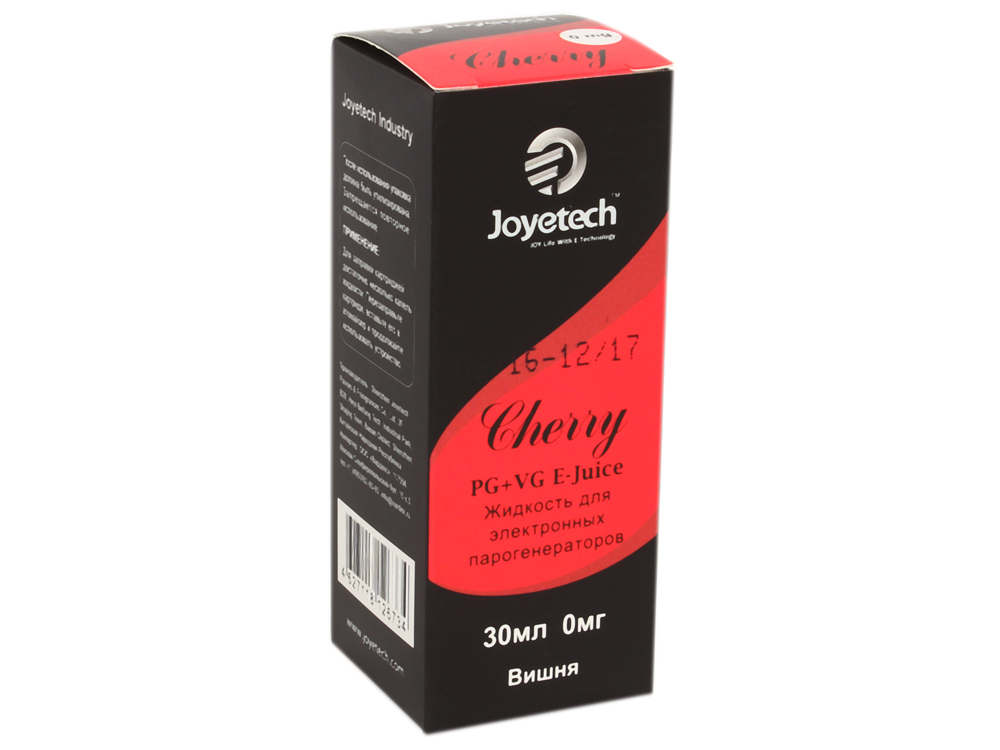 Жидкость для заправки электронных сигарет Joyetech Вишня (0 mg) 30 мл