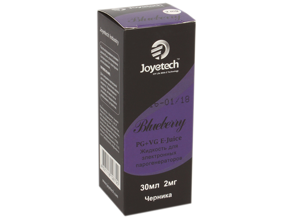Жидкость для заправки электронных сигарет Joyetech Черника (2 mg) 30 мл