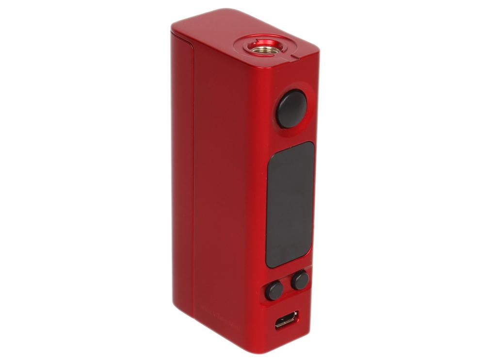Батарейный мод Joyetech eVic VTwo Mini, 75W, без аккумулятора, в комплекте с клиромайзером, бордо батарейный мод joyetech evic vtwo 80w 5000 mah в комплекте с клиромайзером оранжевый