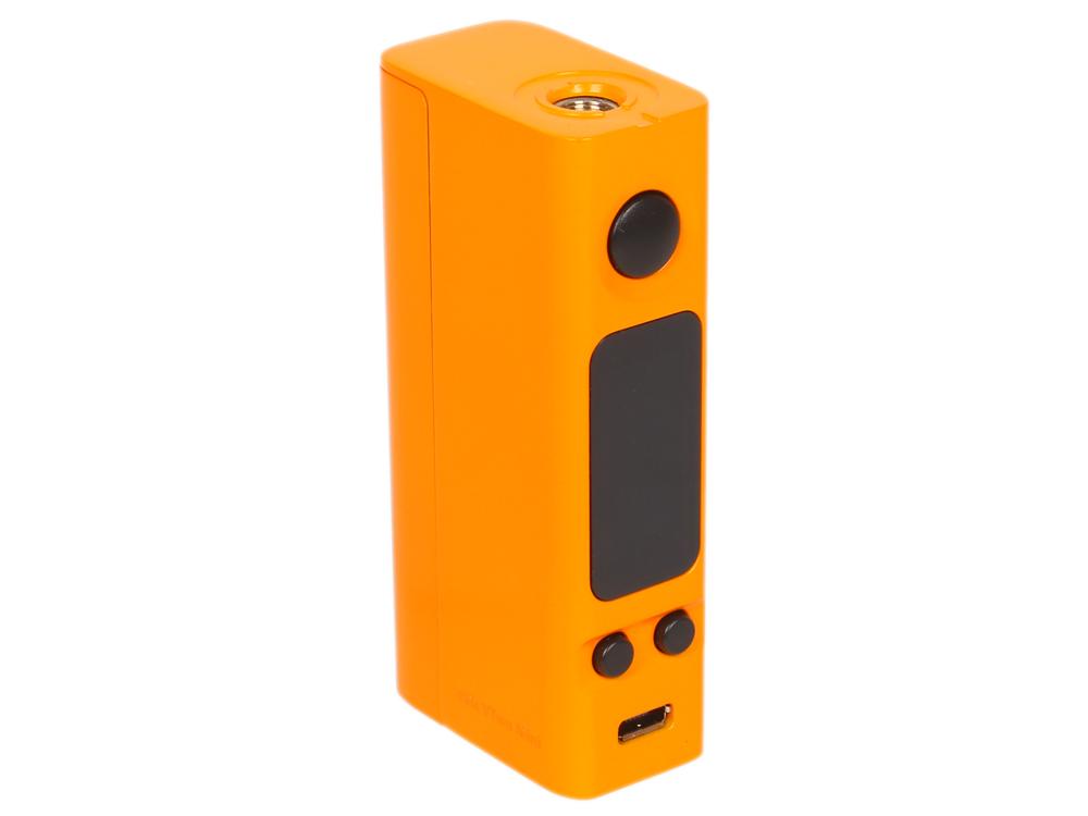Батарейный мод Joyetech eVic VTwo Mini, 75W, без аккумулятора, в комплекте с клиромайзером, оранжевый батарейный мод joyetech evic vtwo 80w 5000 mah в комплекте с клиромайзером оранжевый