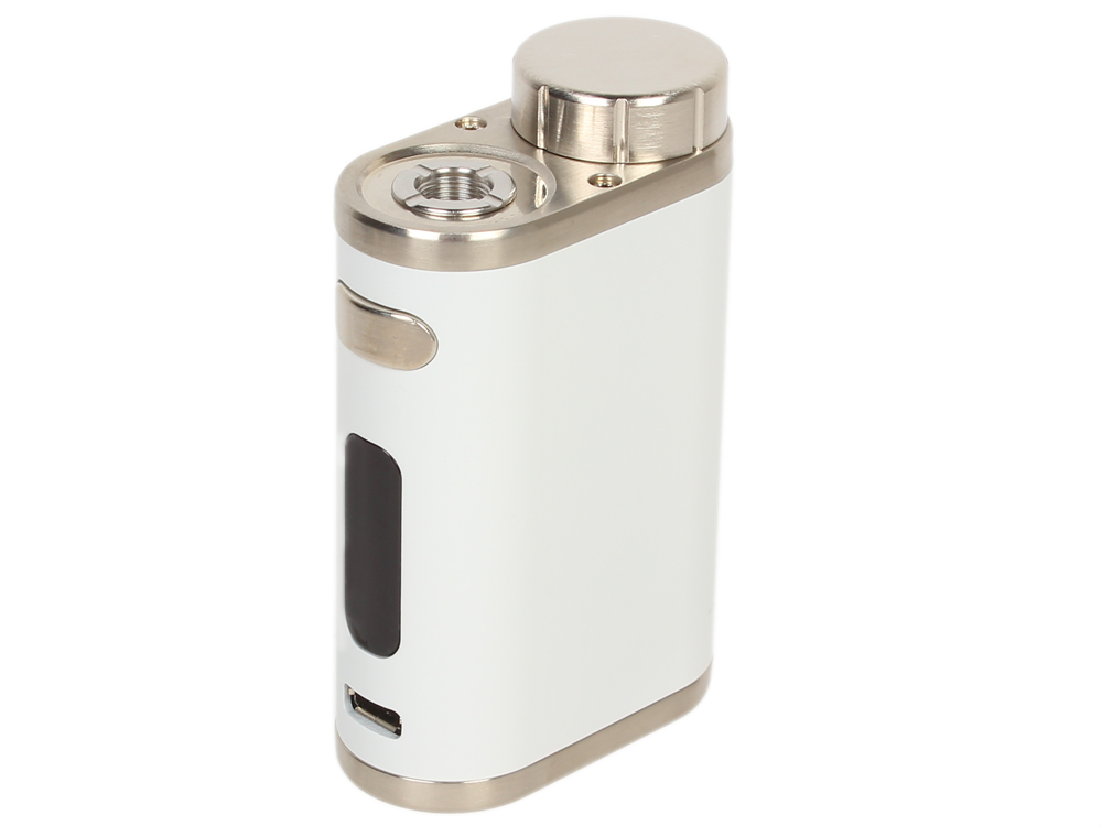 Батарейный мод Eleaf iStick Pico Kit, 75W, без аккумулятора, в комплекте с Melo 3, белый g rante istick pico 75w box mod kit vape electronic cigarette add melo 3 mini atomize