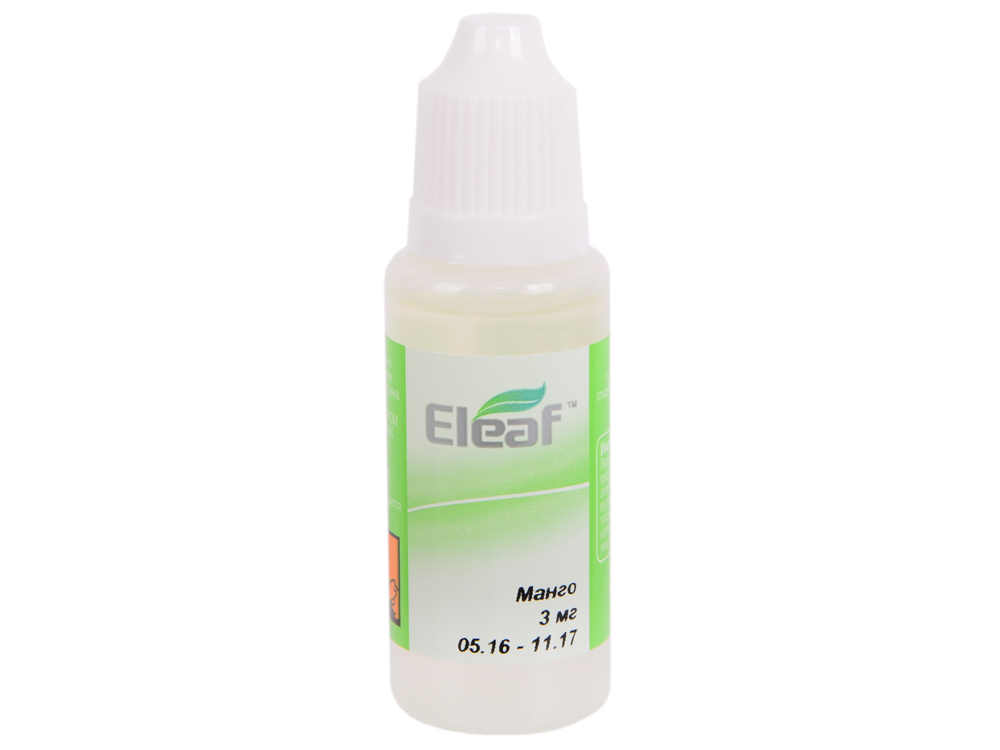 Жидкость для заправки электронных сигарет Eleaf Манго (3 mg) 20 мл