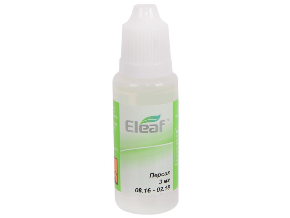 где купить Жидкость для заправки электронных сигарет Eleaf Персик (3 mg) 20 мл по лучшей цене