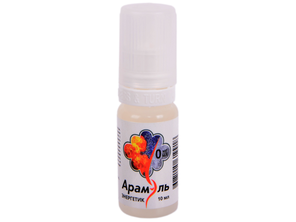 Жидкость для заправки электронных сигарет Арамэль Энергетик (0 mg) 10 мл