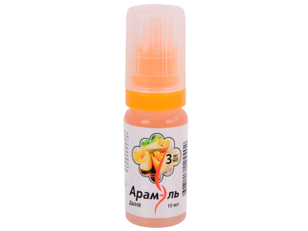 Жидкость для заправки электронных сигарет Арамэль Дыня (3 mg) 10 мл
