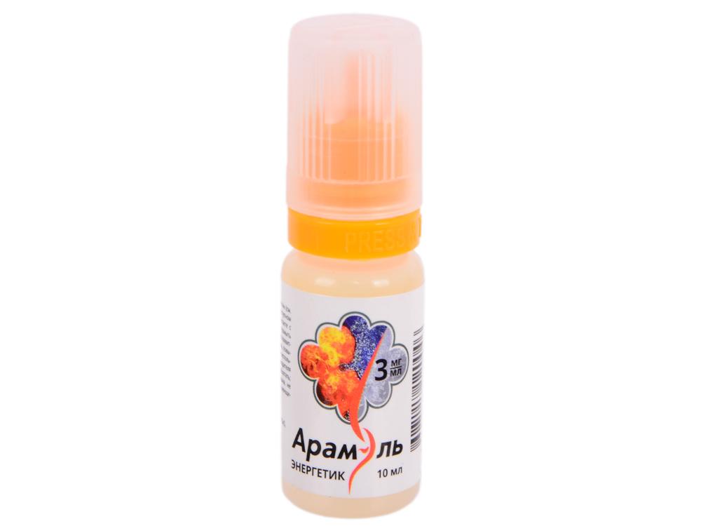 Жидкость для заправки электронных сигарет Арамэль Энергетик (3 mg) 10 мл