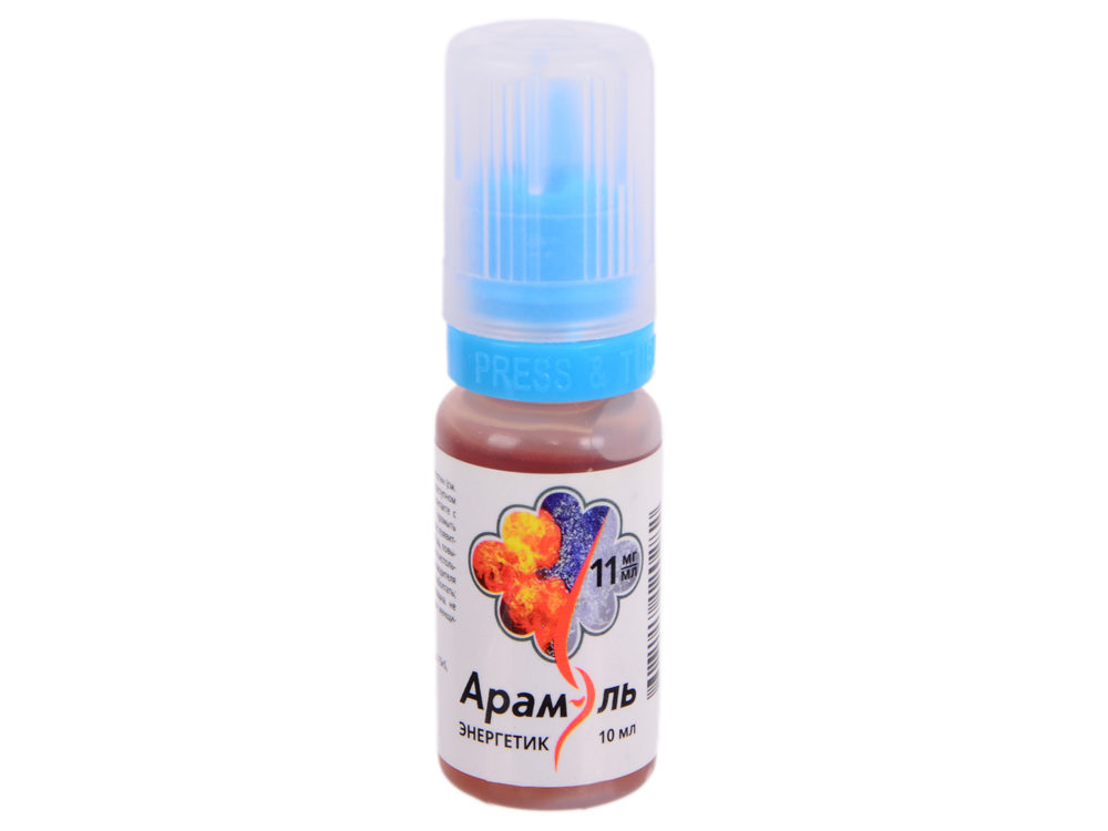 Жидкость для заправки электронных сигарет Арамэль Энергетик (11 mg) 10 мл