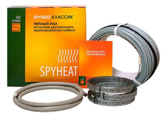 Теплый пол SPYHEAT SHD-20- 900 без термостата площадь укладки 5.6-7.5кв.м мощность 900Вт стоимость