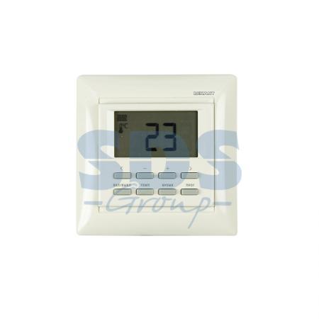 цена на Терморегулятор программируемый RX-527H (бежевый) REXANT (совместим с Legrand серии Valena)