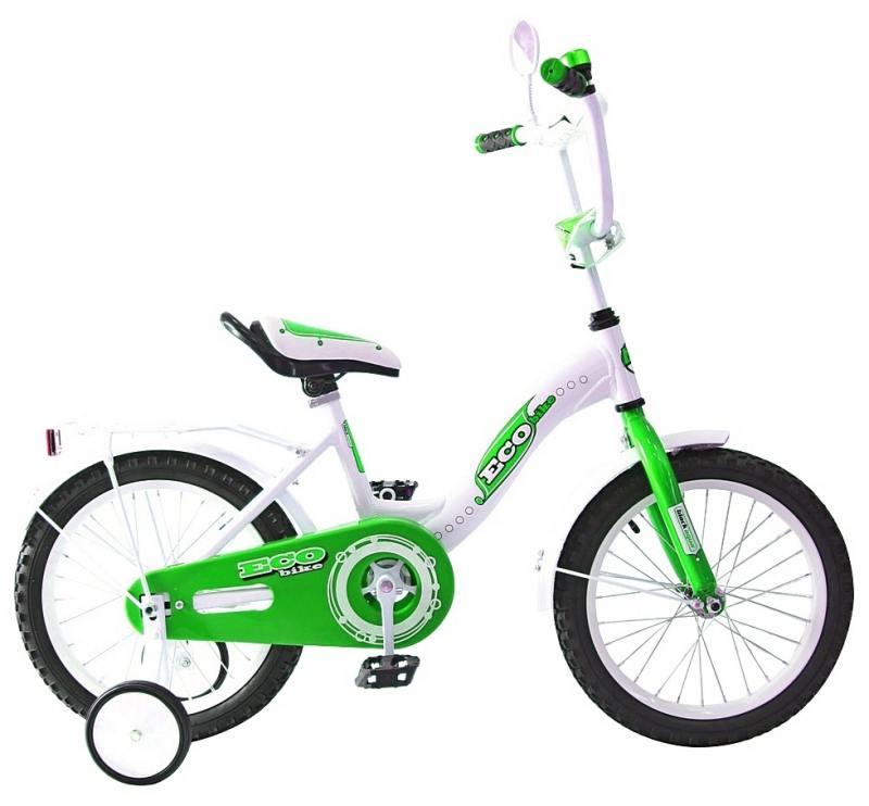 Велосипед двухколёсный Rich Toys Aluminium BA Ecobike зеленый 5413/KG1421 велосипед двухколёсный rich toys ba camilla 14 1s розовый kg1417